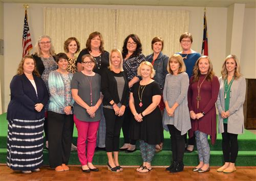DCS Tri-County Bright Ideas Winners are pictured