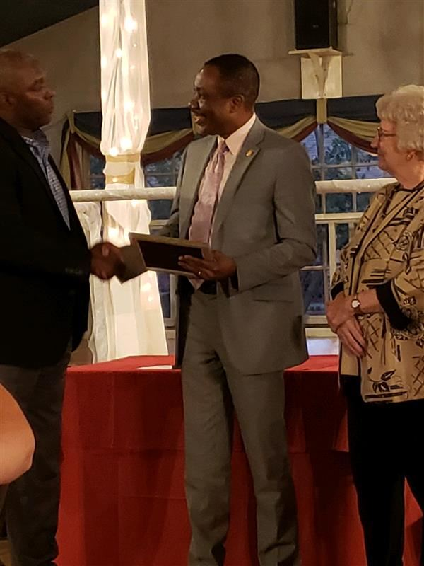 Dr. O receives Rotary Educator of the Year