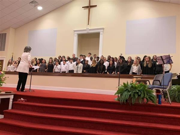 DCS Sponsors All County Chorus and Arts Festival