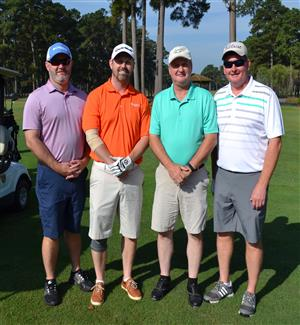 Duplin County Schools was well represented at the Beulaville Chamber of Commerce Golf Tournament.