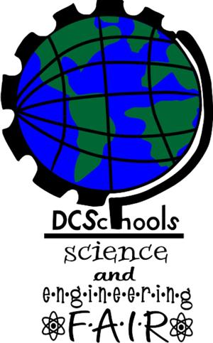 The DCS Science and Engineering Fair logo