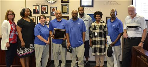 Custodial Staff Get Recognized