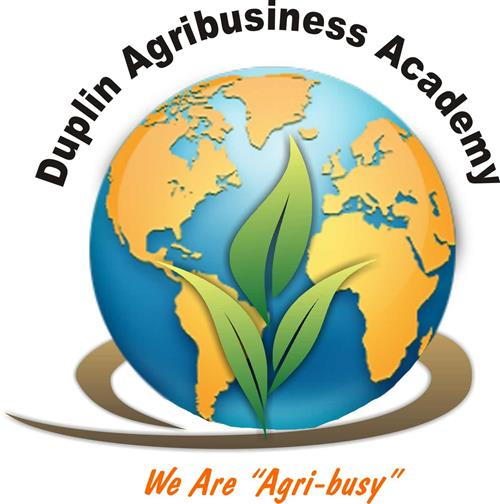 DCS Agribusiness Academy logo says we are agribusy