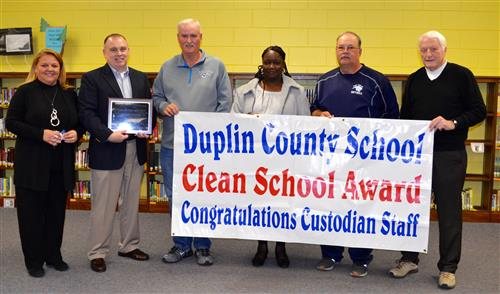 East Duplin High School is presented