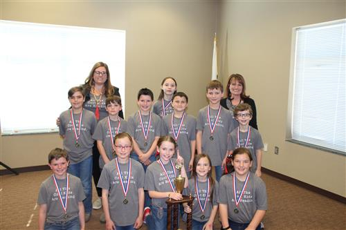 Beulaville Wins Elementary School Battle of the Books Competition