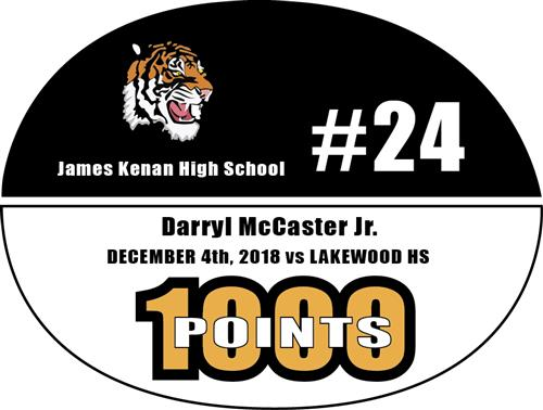 JKHS Darryl McCaster scores 1,000th career points