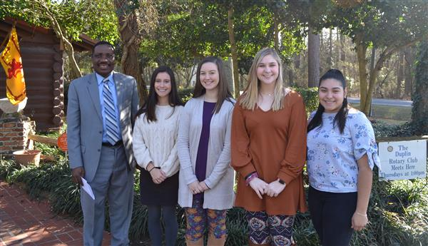 Students of the Month with Dr. O