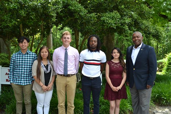 Duplin Rotary Honors Students of the Month for May