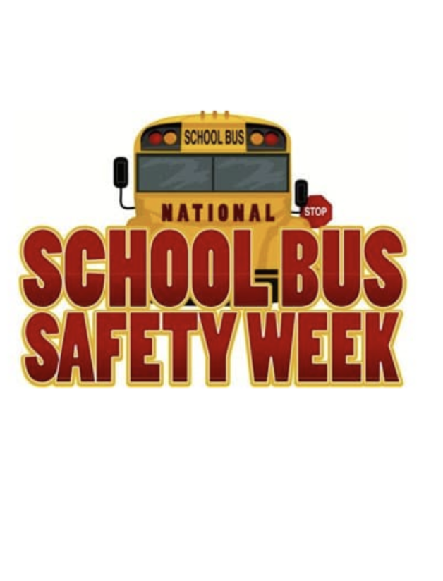 Image of National School Bus Safety Week with a school bus
