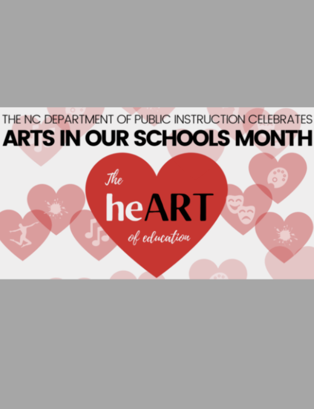 March is Arts in Our Schools Month