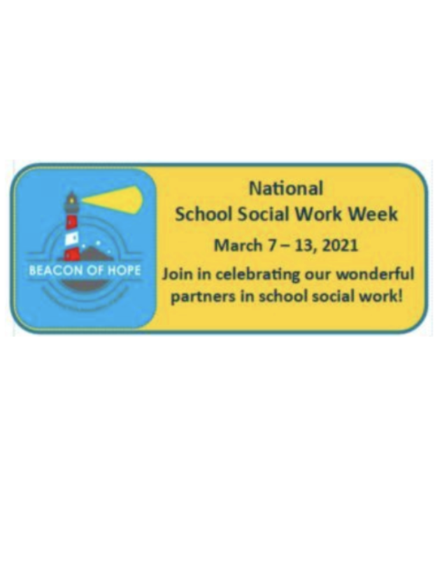 Picture of National School Social Work Week logo
