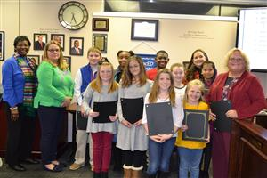 Superintendent's Art Award Winners