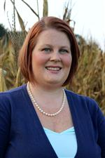 A photo of Tiffany Cassell, the Agribusiness Academy Coordinator for DCS