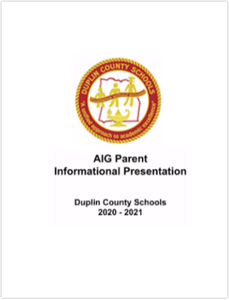 AIG Parent Information Title Slide