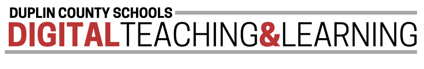 DIGITAL TEACHING AND LEARNING BANNER