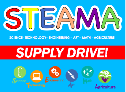 STEAMA Supply Drive