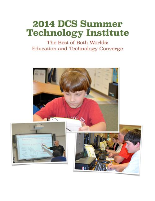 DCS Summer Technology Institute