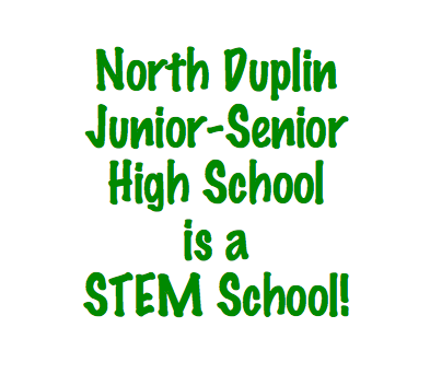North Duplin Junior-Senior High School is a STEM School!