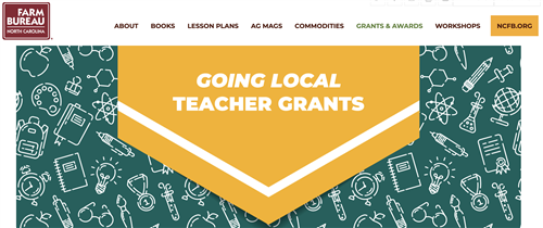 Ag in the Classroom Going Local Teacher Grants
