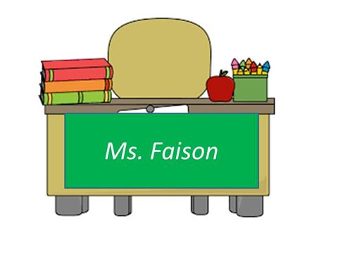 Dear Parents, My name is Lugenia Faison and I will be your child's 4th grade math and science teacher. I  am looking forward