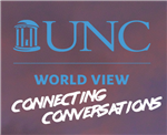 UNC World View Connecting Conversations Logo