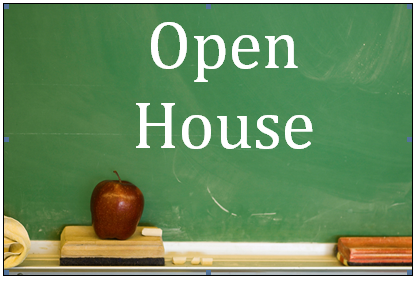 Open House August 3