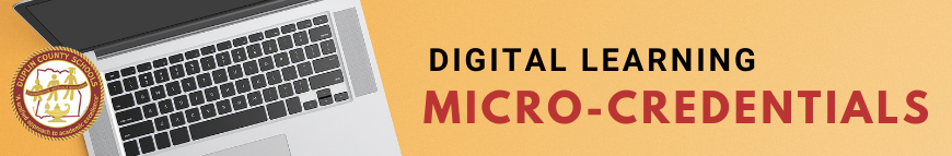 Digital Learning Micro-credentials banner