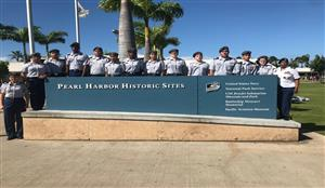 Pearl Harbor Parade Historic Site at Pearl Harbor, December 4th, 2019