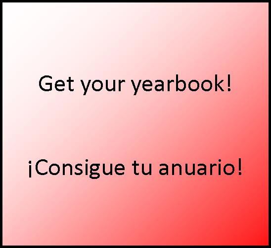 Get Your Yearbook!