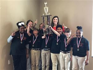 Battle of the Books 2017 District Champions