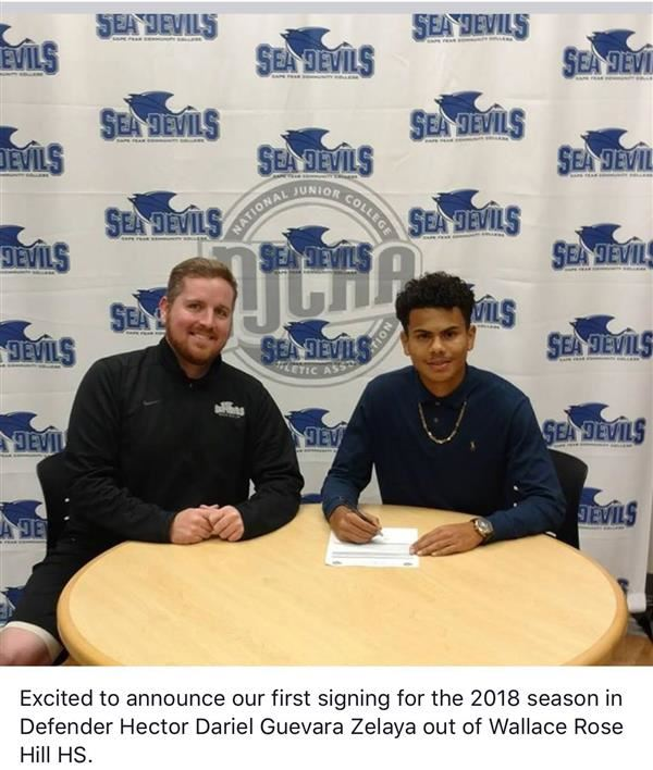 Guevara Signs with CFCC