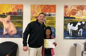 Congratulations to November Student of the Month - Taliayah Faison!