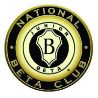 The Junior Beta Club logo is black and gold