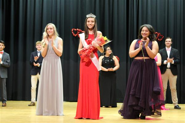 Jones Earns the Title of Queen of Hearts