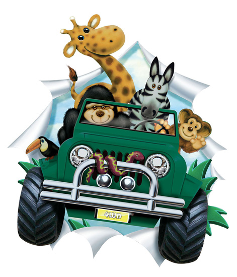 clipart jungle safari - photo #25